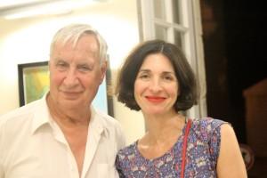 Laurence Tardieu et Jacques Boudet à Lectoure