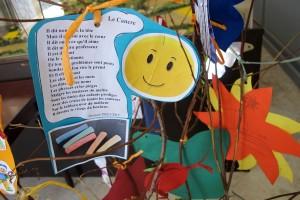 les arbres à poèmes des écoles de Lectoure et Saint Mézard