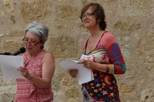 ouverture du festival Anne et Jacqueline