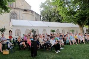 public au Jardin des Marronniers