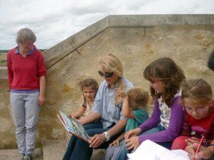 lecture balade dessinée avec Anne Brouillard